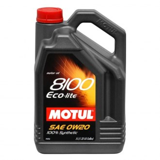 Motul USA® - 8100 Eco-Lite Synthetic Motor Oil