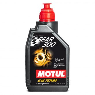 Motul USA® - Gear 300 Synthetic SAE 75W-90 Transmission Lubricant 1.05 Quart