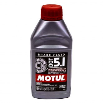 Motul USA® - DOT 5.1 Non-Silicone Brake Fluid, 0.5 Liter
