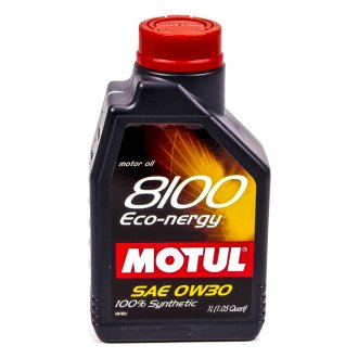 Motul USA® - 8100 0W-30 Eco-Nergy Oil, 1 Liter