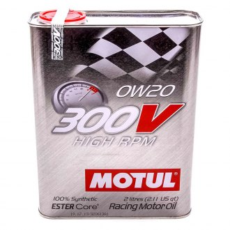 Motul USA® - 300V 0W-20 Synthetic Racing Oil, 2 Liter