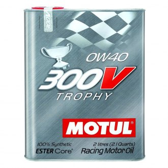 Motul USA® - 300V 0W-40 Trophy Oil, 2 Liter