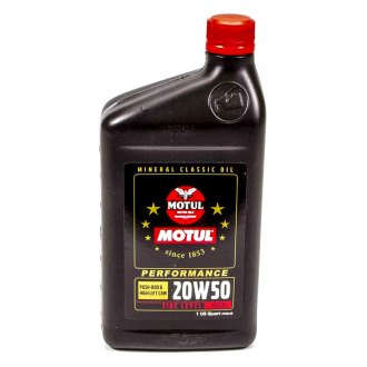 Motul USA® - 20W-50 Classic Performance High-Zinc Motor Oil, 2 Liter