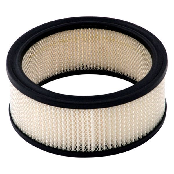 Round Air Filter Paper : Mr gasket a paper replacement round white air filter