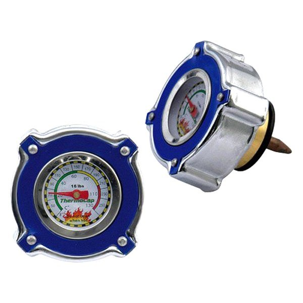 Mr. Gasket® - Thermocap™ Blue Radiator Cap