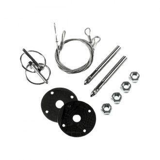 Mr. Gasket® - Competition Hood Pins Kit with Torsion clips