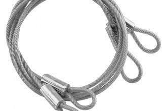 Mr. Gasket® - Hood Pin Replacement-Style Lanyard Cables