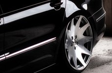 MRR HR3 Silver with Diamond Cut Face on Volkswagen Passat CC
