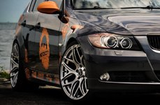 MRR Wheels on BMW E90