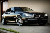 MRR® -  GT1 Hyper Silver with Chrome Lip on BMW 7-Series