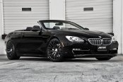 MRR® - HR6 Matte Black on BMW 6-Series