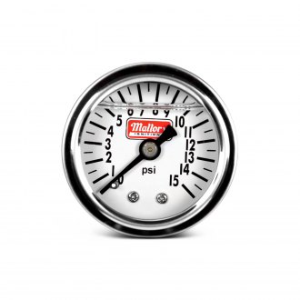 MSD® - Mallory Fuel Pressure Gauge