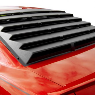 MSI® - Rear Window Louvers (Unpainted)