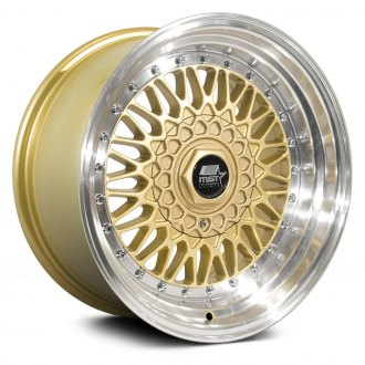 MST® - MT13 Gold with Machined Lip