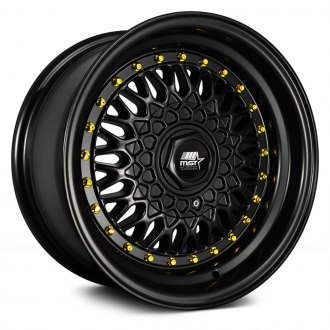 MST® - MT13 Matte Black with Gold Rivets