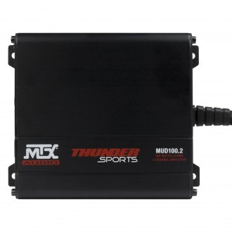 MTX® - MUD Series Class D 2-Channel 400W Amplifier