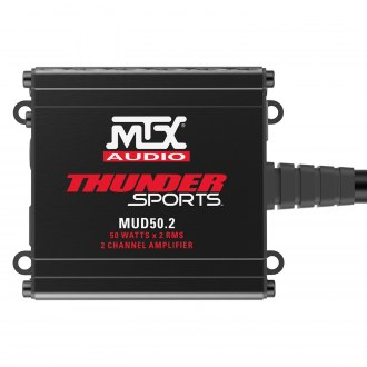 MTX® - MUD Series Class D 2-Channel 200W Amplifier