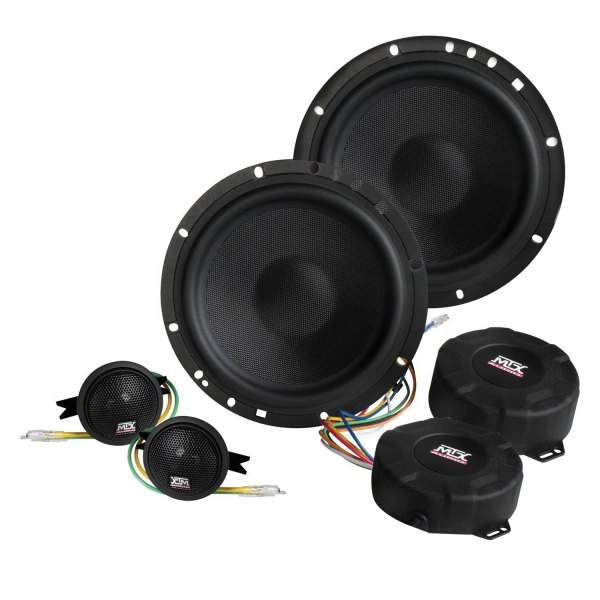 "MTX® - 6-1/2"" 2-Way Signature Series 300W Component Speakers"