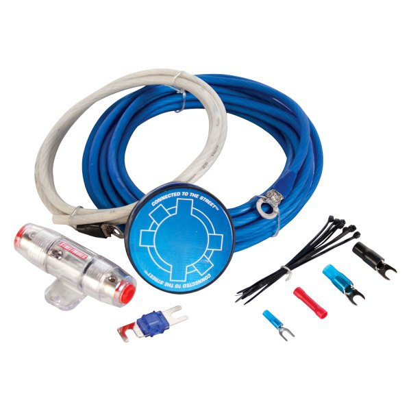 MTX® - StreetWires ZN5 Series 8 Gauge Amplifier Wiring Kit