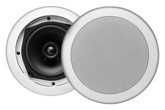 "MTX Audio® M512C - 5-1/4"" 2-Way In-Ceiling Mount 80W Speakers with Single 1/2"" Balanced Dome Tweeters"