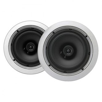 "MTX Audio® - 6-1/2"" 2-Way Round In-Ceiling 100W Speakers with Single 1/2"" Balanced Dome Tweeter"