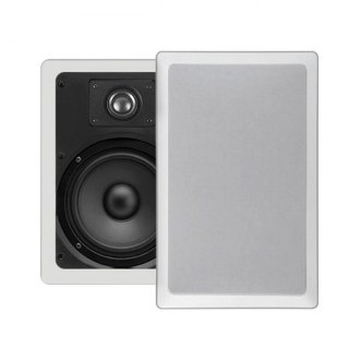 "MTX Audio® - 6-1/2"" 2-Way In-Wall 100W Speakers with 1/2"" Balanced Dome Tweeter"