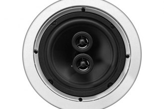 "MTX Audio® - 6-1/2"" 2-Way Stereo In-Ceiling 100W Speaker with Dual 1/2"" Balanced Dome Tweeters"