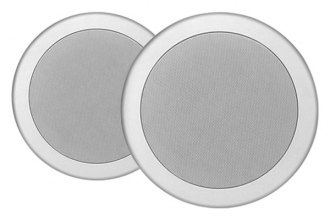 "MTX Audio® - 8"" 2-Way In-Ceiling 130W Speakers with Single 1/2"" Balanced Dome Tweeter"