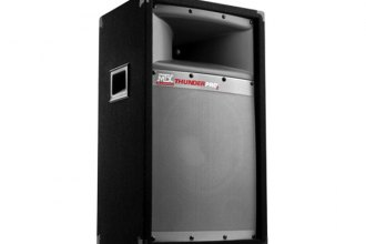 "MTX Audio® - 10"" 2-Way Thunder Pro 2 Series 200W Single Professional Loudspeaker"