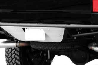 N-Fab® - RBS Rear Bumper with Aluminum Skid Plate