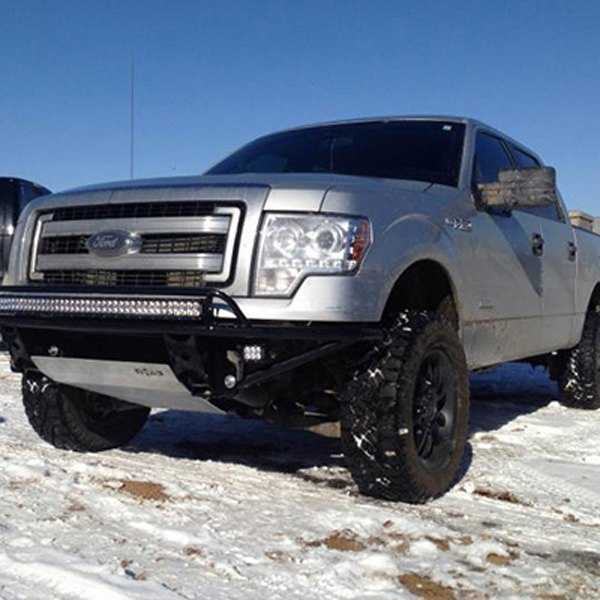 N Fab Bumpers : N fab ford f rds full width front pre
