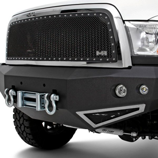 Image may not reflect your exact vehicle! N-Fab® - Heavy Duty Front Winch Bumper