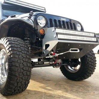 N-Fab® - RSP Stubby Black Front Winch Pre-Runner Bumper