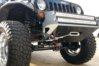 N-Fab® - RSP Textured Black Winch Front Bumper