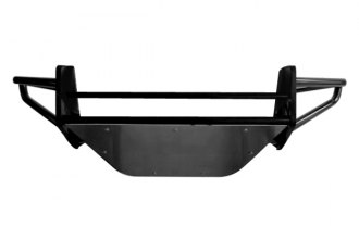 "N-FAB® N044RSP - RSP Replacement Gloss Black Front Bumper (With Mount up to four 9"" Lights)"