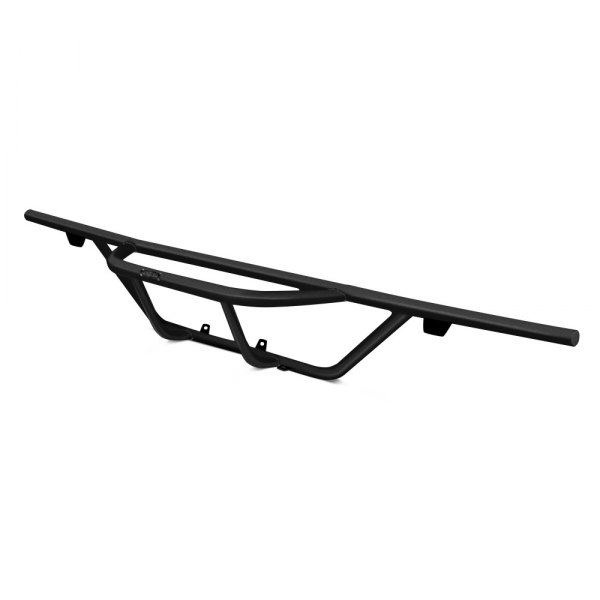 Image may not reflect your exact vehicle! N-Fab® - Pre-Runner Style Black Rear Bumper Guard