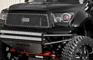 N-FAB® - Textured Black Mesh Grille