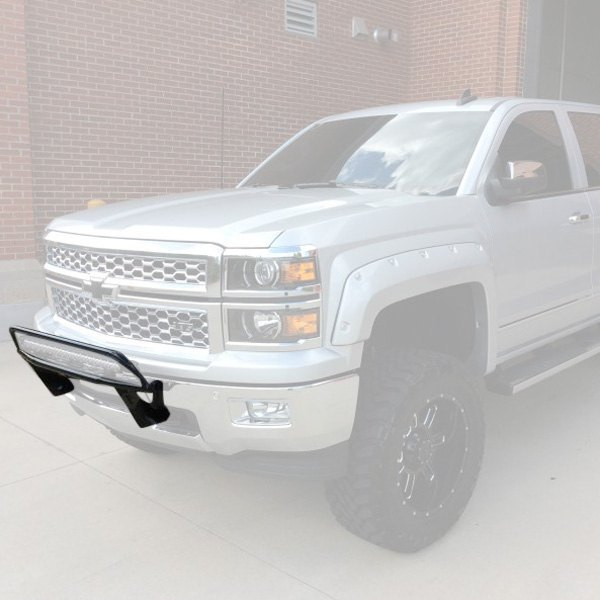 N fab chevy silverado 2015 or series bumper light bar for up to n fab or series bumper light bar for up to 30 led aloadofball Gallery
