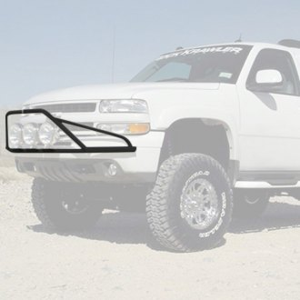 "N-Fab® - Pre-Runner Style Bumper Light Bar for Up to 3x9"" Round Lights"