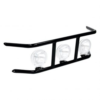 "N-Fab® - DRP Series Bumper Light Cage for Up to 3x9"" Round Lights"