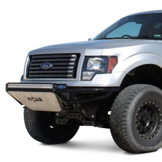 "N-Fab® - RSP Full Width Front Pre-runner Bumper with Mount up to One Rigid 38"" LED Bar Only"