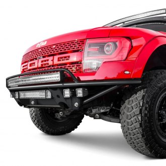 N-Fab® - RDS Full Width Front Pre-runner Bumper with Upper Radius Mount Light Bar