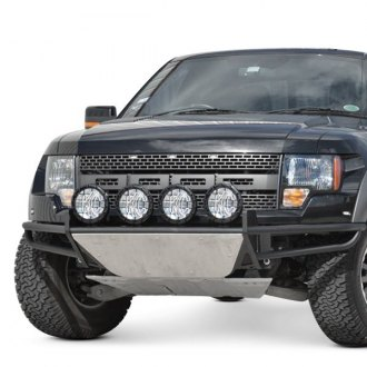 "N-Fab® - RSP Full Width Front Pre-runner Bumper with Multi-Mount up to Four 9"" Lights"