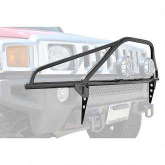 "N-Fab® - Pre-Runner Style Bumper Light Bar for Up to 2x9"" Round Lights"