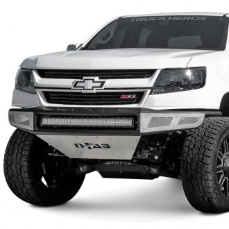 N-Fab® - MRDS Upper Radius Full Width Front Pre-Runner Bumper with Skid Plate