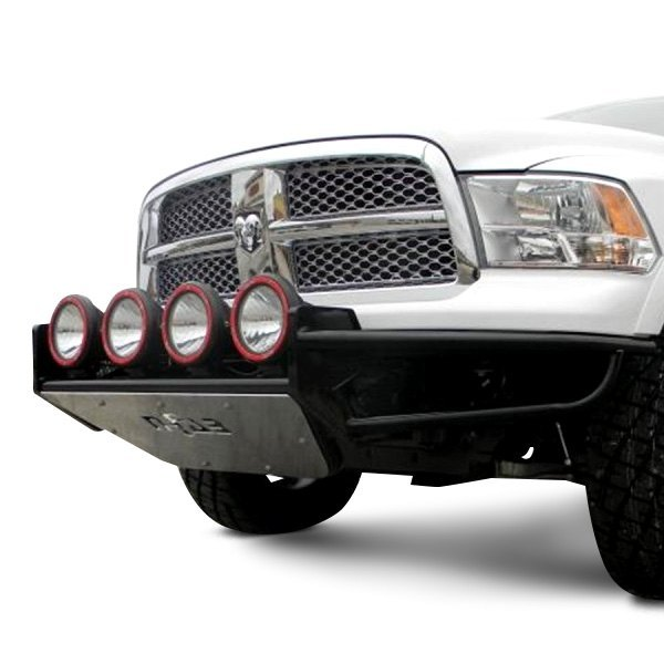 N-Fab® - RSP Full Width Front Pre-Runner Gloss Black Bumper Image may not reflect your exact vehicle!
