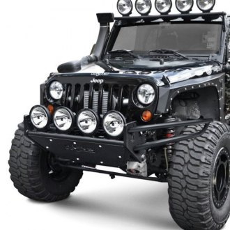 "N-Fab® - RSP Stubby Front Pre-runner Bumper with Multi-Mount up to Four 9"" Lights"
