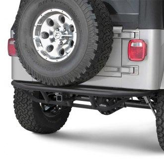 1999 Jeep Wrangler Off Road Steel Rear Bumpers Carid Com