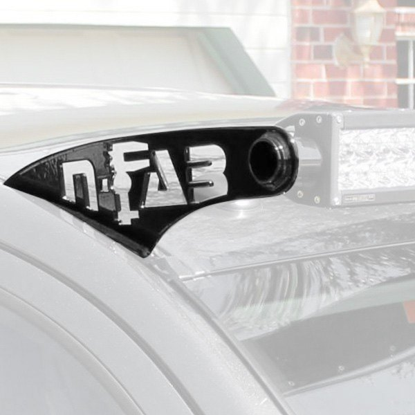 "N-Fab® - Roof Mounts for 49"" to 50-3/8"" Straight LED Light Bar"
