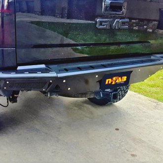 N-Fab® - RBS Rear Bumper with Skid Plate